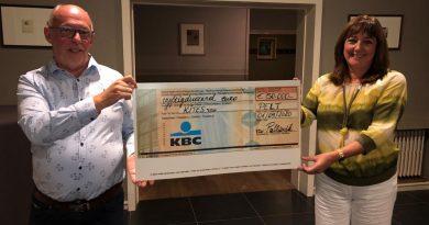 Palliovik Schenkt €50000 aan Kites